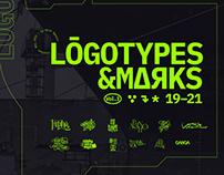 LOGOTYPES & MARKS 19–21