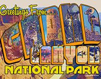 National Park Retro Poster Series