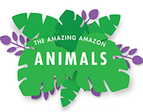 Amazing Amazon Animals Exhibit Design