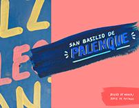 San Basilio de Palenque · Diseño de marca / Postales