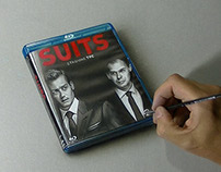 Drawing a bluray of SUITS stagione 3