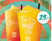 Blended Ice Campaign McDonald's Norway