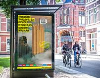 Aransas Office Market - Billboard and Magazine Ad