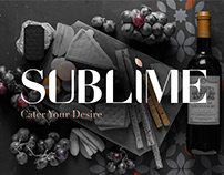 Sublime | Catering Brand