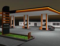 Petrol İstasyonu Proje