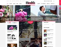 HealthMag - Striking Magazine Joomla 3.x Template