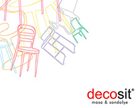 Catalog Design & Shooting / Decosit Chair &Table