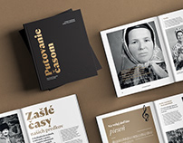 Putovanie časom / book / print / web design