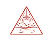 Triangle Sun rise- Cap design