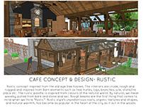 CAFE CONCEPT & DESIGN- RUSTIC