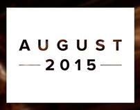 Everydays - August 2015