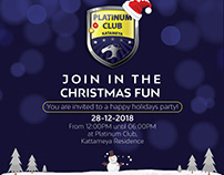 Platinum Club Happy holidays party