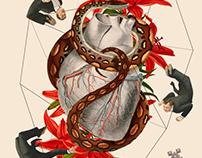 ANTROPOAMÓRFICO: 3 of hearts