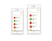 Fruitastic supply Application   UX/UI Design