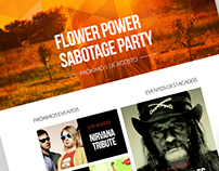 Diseño Web Sabotage