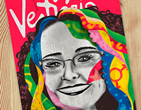 Ilustrações para a revista Vestiário