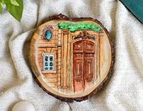 Places; Wood Art