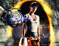 Tribute to Portal game - Starring by Gina Tost