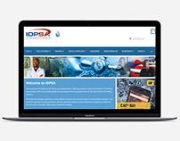 IOPSA Website Design