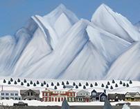 my Christmas painting