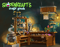 Environment for Shopenkraft's Magic Goods