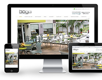 Boga Restaurant - Website, Retouching & Deep-etching