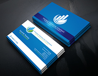 Exclusive modern and professional business card