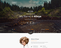 GoldMate Creative PSD Template home 3