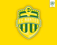 FC Nantes - Rebranding