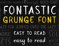 Fontastic - Real Paint Typeface