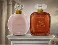 Identidade Visual   Parfum Grèce