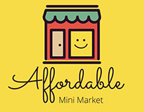 AFFORDABLE MINI MARKET BRANDING
