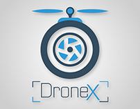 DroneX Branding Logo Design