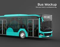 Bus Mockup