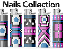 Lighters - Nails Collection - Packaging