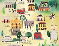 San Cristobal de las Casas Map
