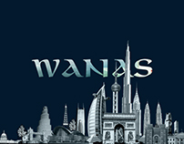 Wanas | Logo Design and Branding