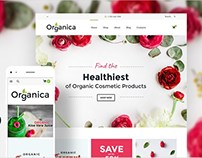 Cosmetics and Bio Active Nutrition WooCommerce Theme
