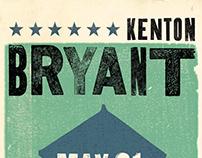 Kenton Bryant Promotional Materials