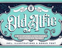 Old Alfie Font