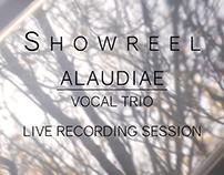 Alaudiae Vocal Trio // Showreel
