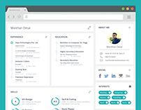 Creative Resume Design - UI/UX Designer
