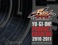 2011 Yu-Gi-Oh! TRADE SHOW CATALOG COVER