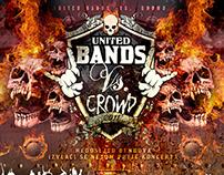 UNITED BANDS vs CROWD tour 2011 - 2012