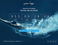 Bar Coming Soon Free Html5 Template