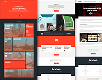 Suthri Website Template