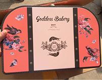 Goddess's cracker box /packaging