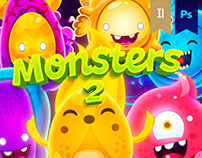 Monsters 2 Oscar Creativo