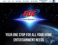 Electronic Diagnostic Center Website Design