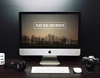 SplitShire -iMac Mockup Freelancer Setup